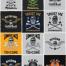 53款欧美复古徽章LOGO标志图案适用于T恤制作(T-shirt design )矢量素材打包下载