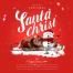 6款精品圣诞节ps海报模板手绘风平安夜雪人国外设计PSD设计素材