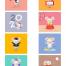 65款2020新年春节古风鼠年卡通老鼠插画海报展板背景PSD分层设计素材
