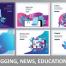 107款金融购物教育医疗2.5D等距卡通人物h5闪屏ui手机app网页插画AI矢量素材打包下载