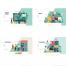 84款互联网商业业务概念扁平化2.5D卡通商务办公插画AI矢量设计素材