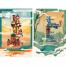 27款古建筑中国风国潮城市旅游景观海报插画扁平风印象地标PS设计素材