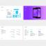 炫彩企业公司品牌vi手册毕业作品视觉设计演示sketch模版Ai素材