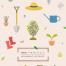 14款手绘卡通插画青蛙雨水夏日暑节气植树园丁种植PSD分层素材