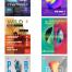 20款未来梦幻抽象科技感海报PSD源文件打包下载