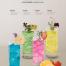 12款草莓芒果饮料果汁柠檬水吧菜单海报PSD模板素材源文件
