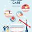 11款卡通爱护牙齿口腔健康蛀牙预防检查宣传海报AI矢量素材模板