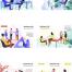 77款2.5D人物商务企业工作团队合作金融网页ui插画AI矢量素材库