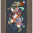 12款手绘古风年画十二天支生肖插画红包装饰画芯AI矢量设计素材