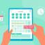 25款手绘卡通扁平手指操作手机动作界面插画AI矢量UI素材app产品