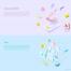 国外创意扁平化3D金融数据互联网网站Banner背景UI设计矢量图素材