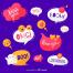 10套表达式绘制语音气泡插图矢量素材打包下载