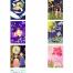 73款牛郎织女七夕情人节鹊桥会手绘插画促销活动海报PSD设计素材背景