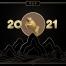 6款20201年辛丑年牛年快乐新年新春展板PSD素材